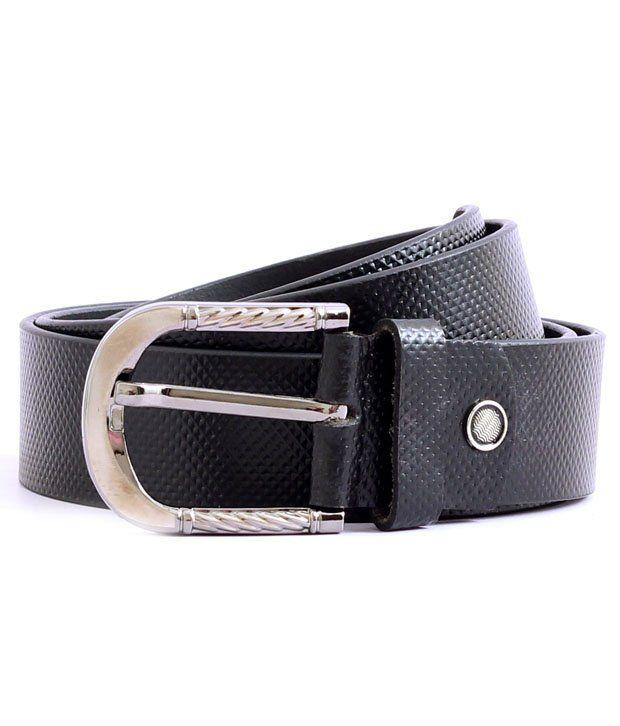 The Label Black Belts For Mens