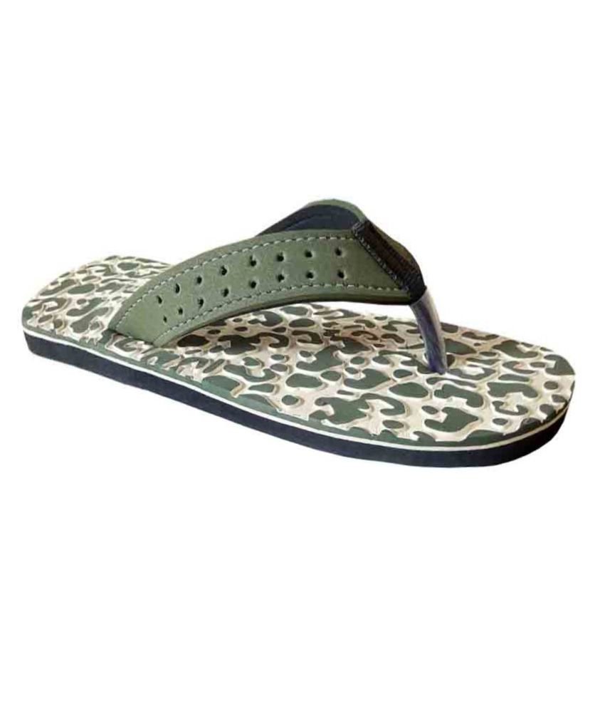 Unispeed Accuperssure & Green Foot Massage Slippers