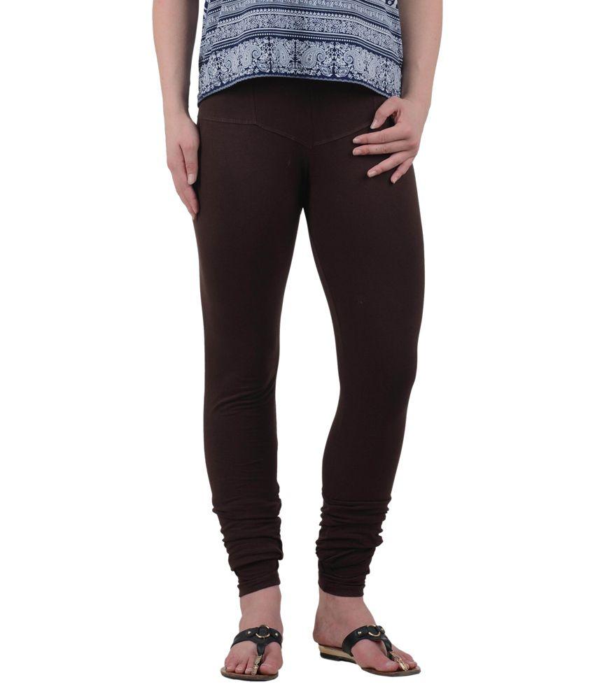 American-Elm Women's Cotton Leggings