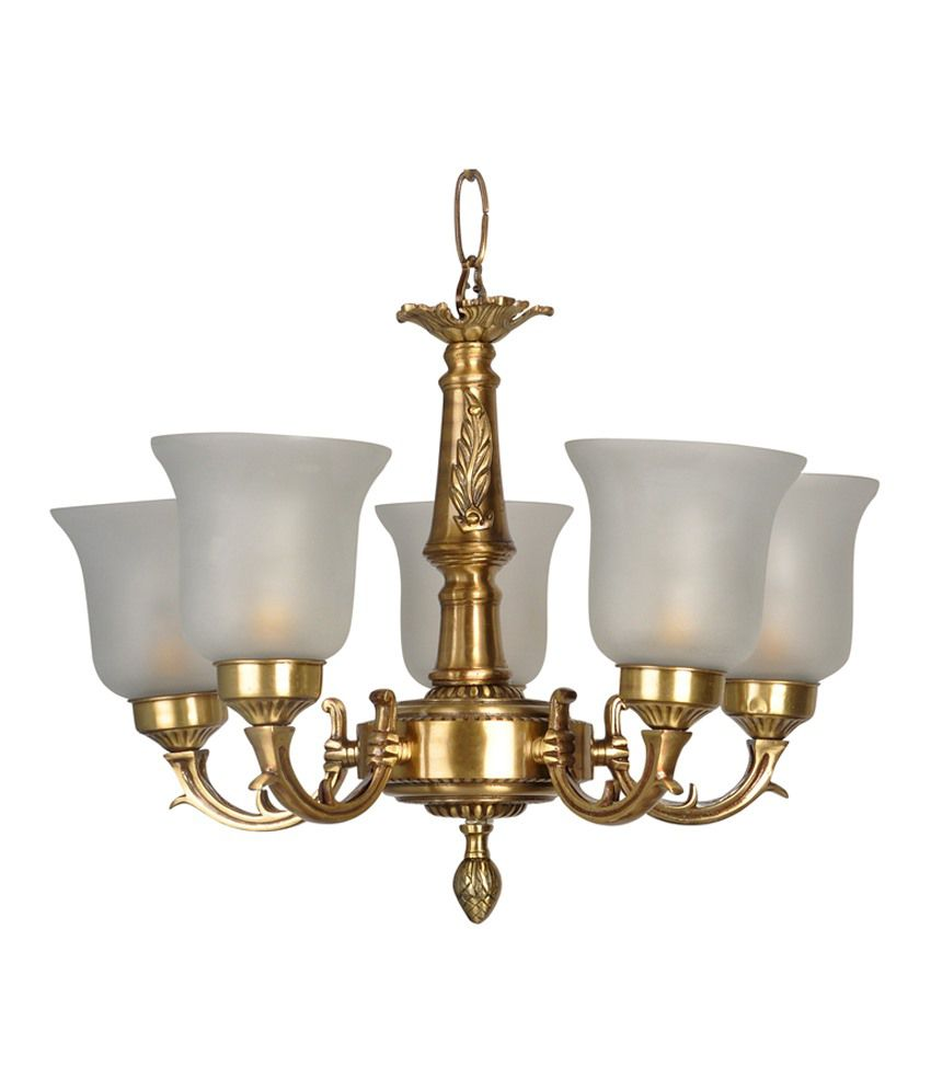Fos lighting small traditional brass chandelier buy fos lighting small traditional brass chandelier at best price in india on snapdeal