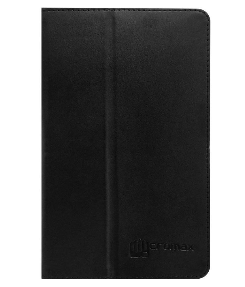 Acm-Flip-Cover-For-Micromax-Canvas-Tabby-P469-Tablet-Black