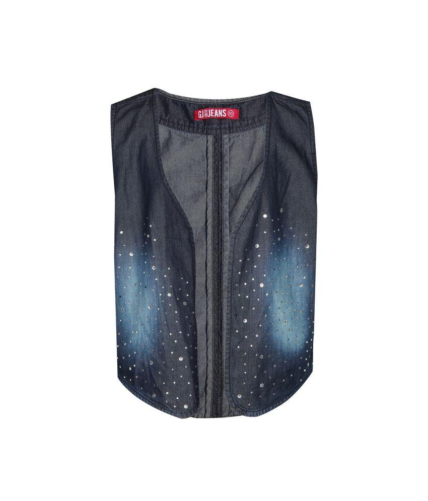 Gini & Jony Waist Coat Sleeve Less For Kids