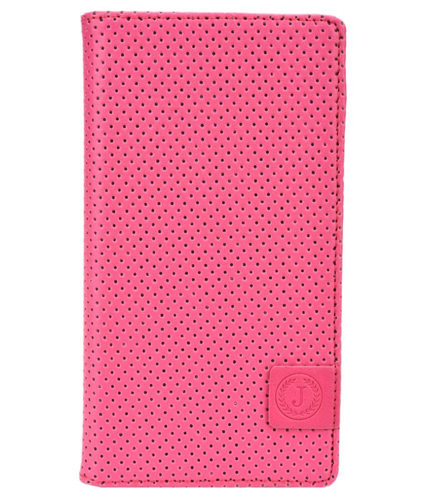 Jo Jo Flip Cover for Asus Zenfone 6 16GB- Pink