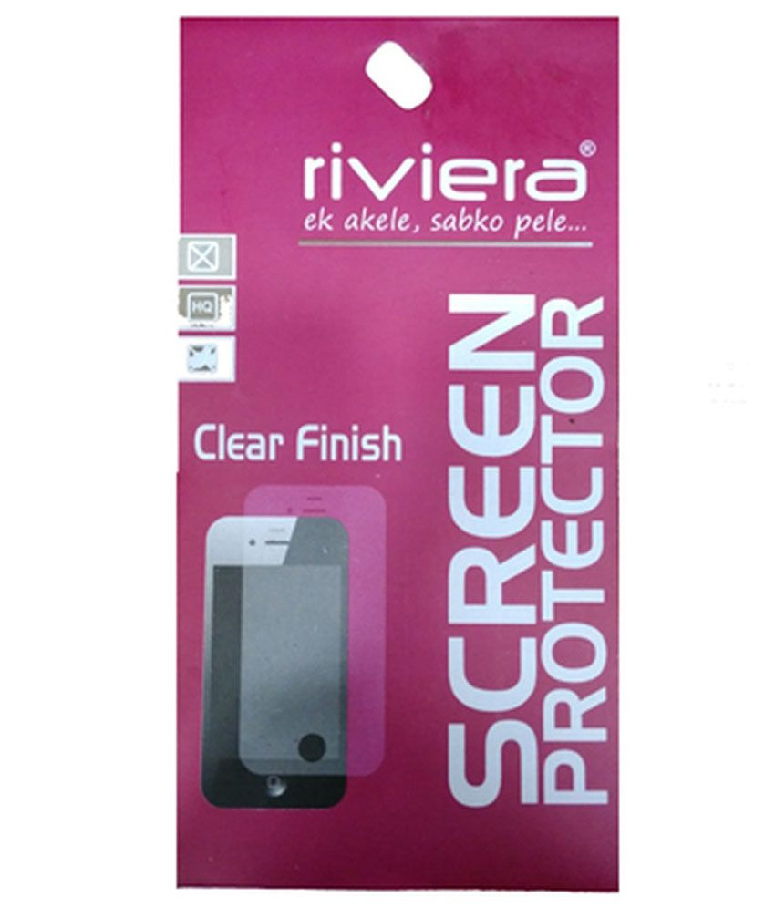 Xolo A 510 S Clear Screen Guard by Riviera