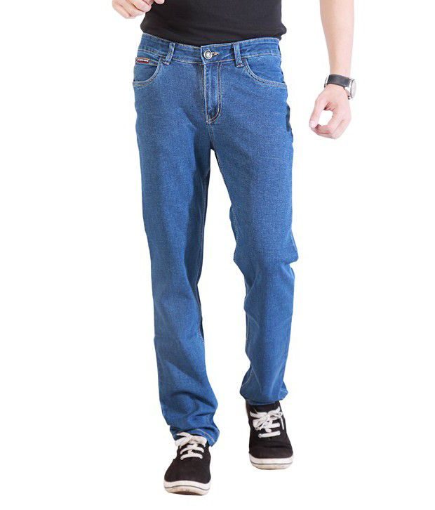 Soft Deals Blue Regular Fit Jeans