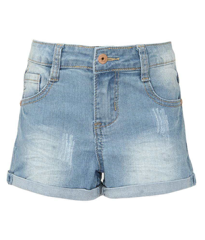 Milk Copenhagen Blue Denim Shorts