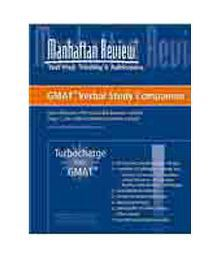 Manhattan Turbocharge Your Gmat Verbal Study Companion