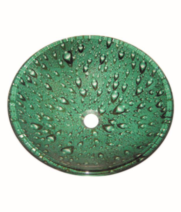 Inex Green Glass Wash Basin available at SnapDeal for Rs.3735