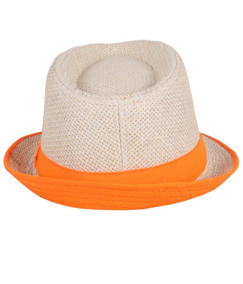 Jstarmart Brown Polyester Fidora Hat For Women