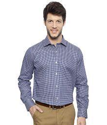 Van Heusen Blue Shirt For Men