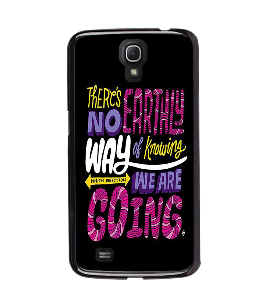 Instyler TPU Glossy Back Cover Case For Samsung Galaxy Mega 6.3 - Black