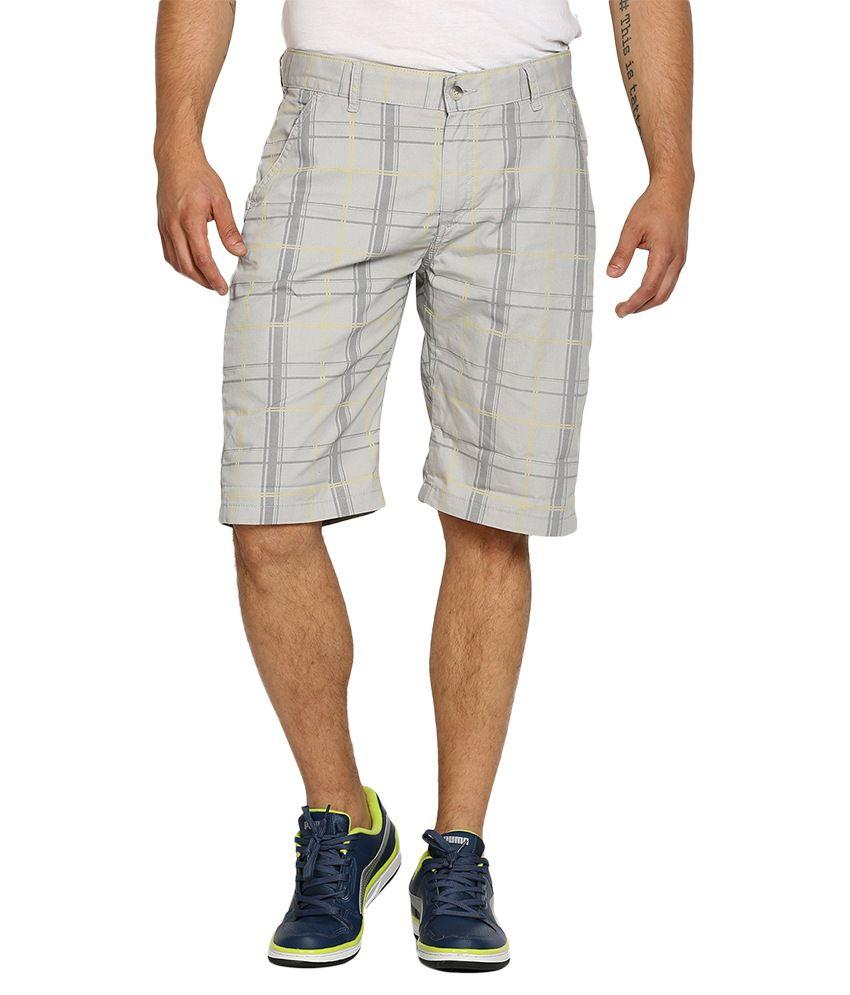 Locomotive Grey Shorts