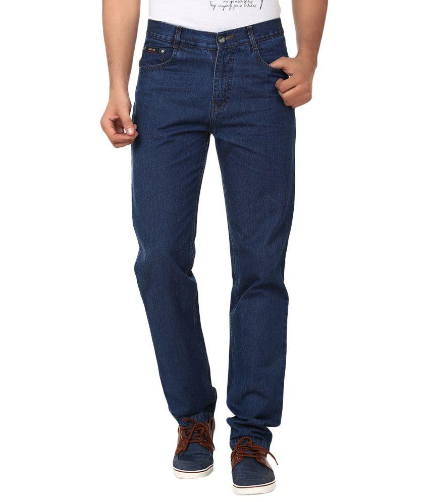 Wintage Blue Regular Fit Jeans