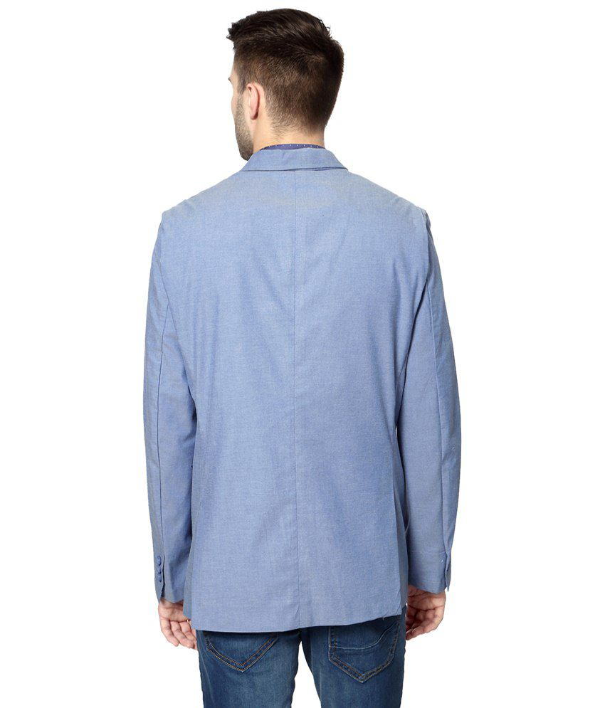 Van Heusen Blue Blazer for Men - Buy Van Heusen Blue Blazer for Men ...