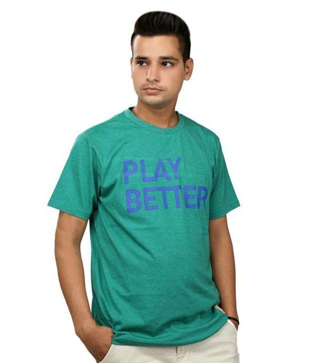 Aeltic Green Cotton T-shirt