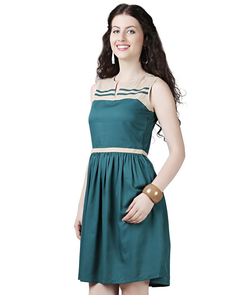 Eavan Green Fit Amp Flare Dress Buy Eavan Green Fit