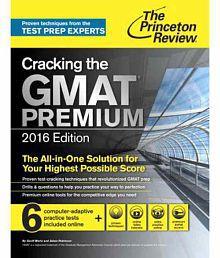 Cracking The Gmat Premium Edition, 2016