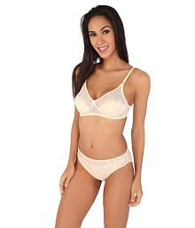 d998efefdadfe Quick View. Bralux Women's Madhu Lace Full Cup B Bra & Panty Set Skin. Rs.  ...