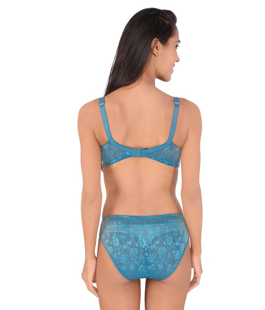 13508ffb73f46 Buy Bralux Blue Bra & Panty Sets Online at Best Prices in India ...
