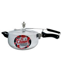 Chinar Silver Aluminium Contura Deluxe Pressure Cooker - 3 Litre