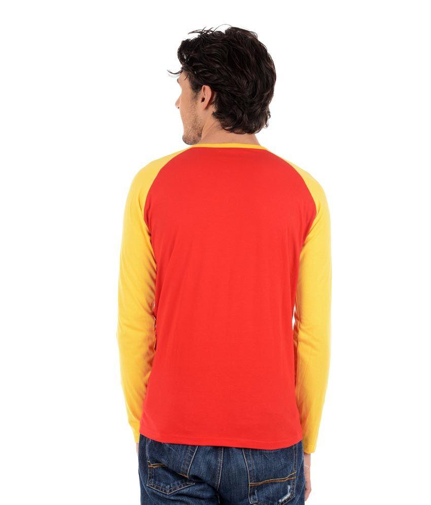 Big Idea Multicolor Cotton Blend T-shirts - Pack Of 2
