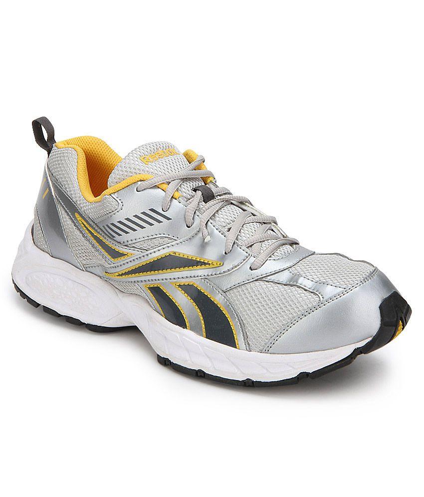 reebok active sport silver sports shoes buy reebok