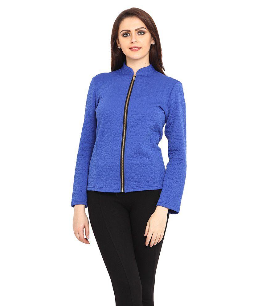buy bella rosa blue polyester blend jackets online at best prices in india snapdeal. Black Bedroom Furniture Sets. Home Design Ideas