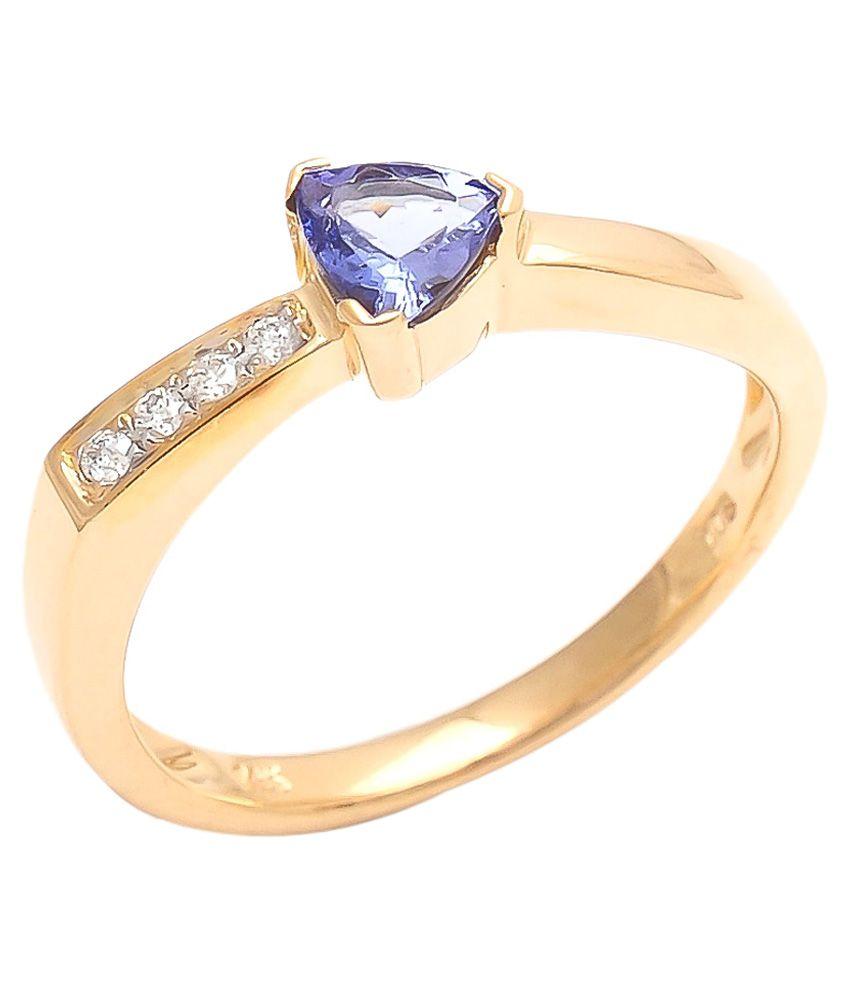 diamonds international 14kt gold tanzanite ring buy. Black Bedroom Furniture Sets. Home Design Ideas