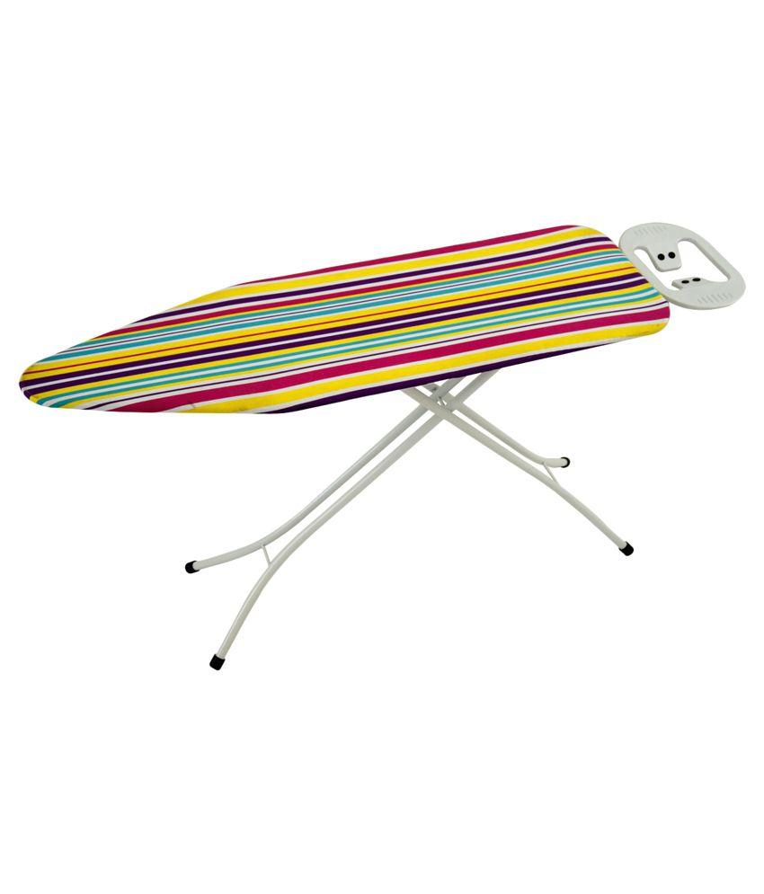 Eurostar Multicolour Folding King 122 x 38 cms Ironing Board/Iron Table