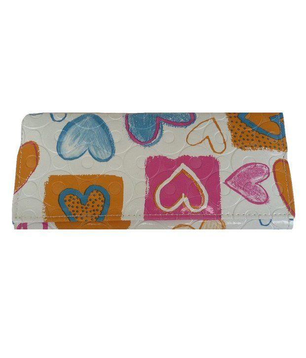 Viva Fashions Multicolor Non Leather Regular Wallet For Women