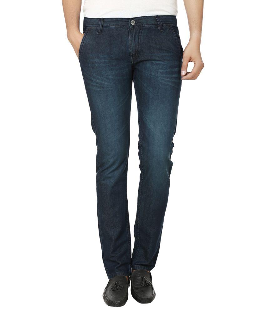 Alan Woods Blue Slim Fit Jeans - Set of 3
