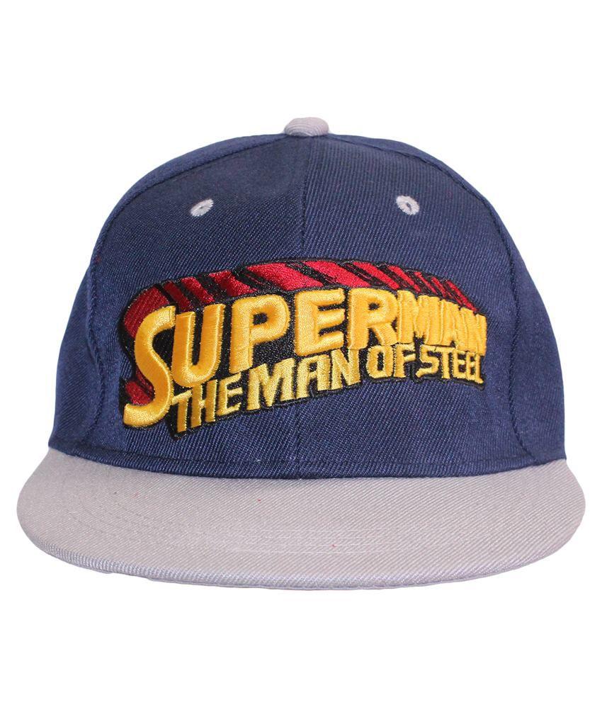 Multibrand Blue Cotton Cap