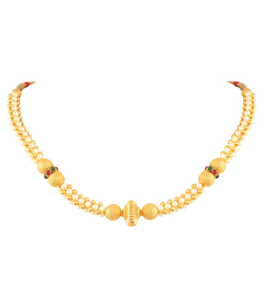 P.N.Gadgil Jewellers 22 Kt Gold Necklace