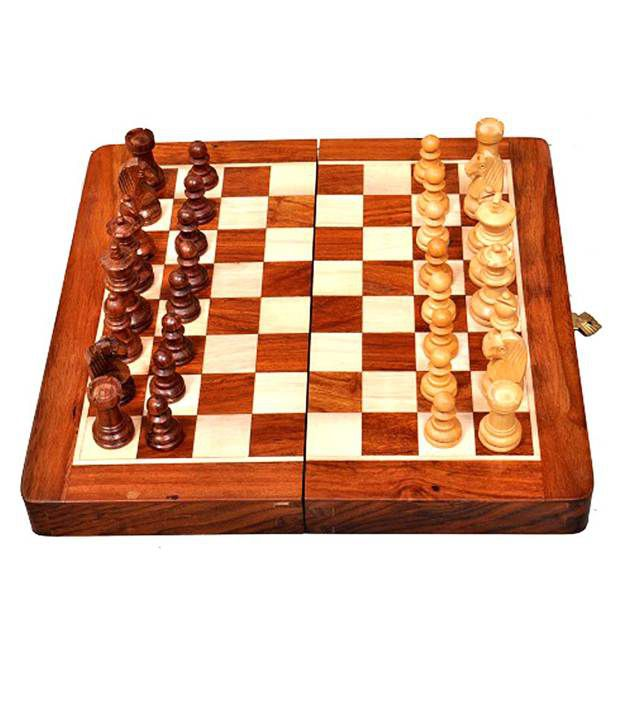 Best Chess Wooden Magnetic Chess Set With Chess Pieces 10 Inches