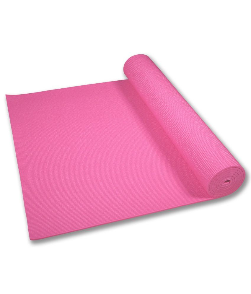 Story @ Home Pink Yoga Mat 4 Mm: Buy Online At Best Price