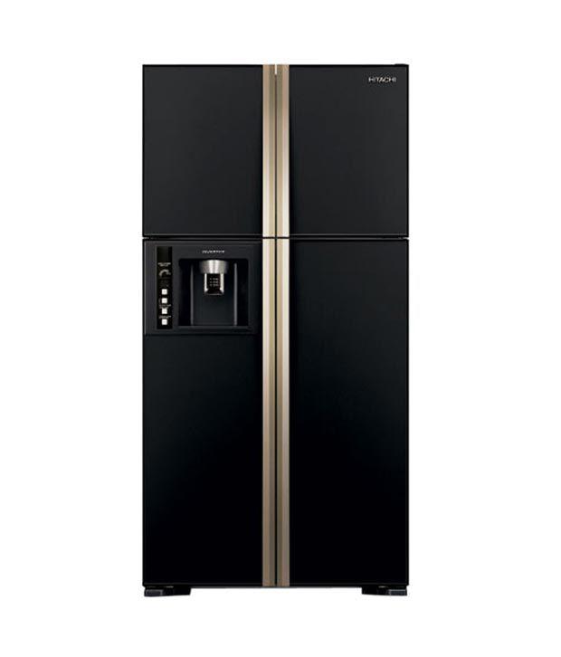 Hitachi 638 ltrs R-W720FPND1X -(GBK)-(Delux) Frost Free Double Door Refrigerator...