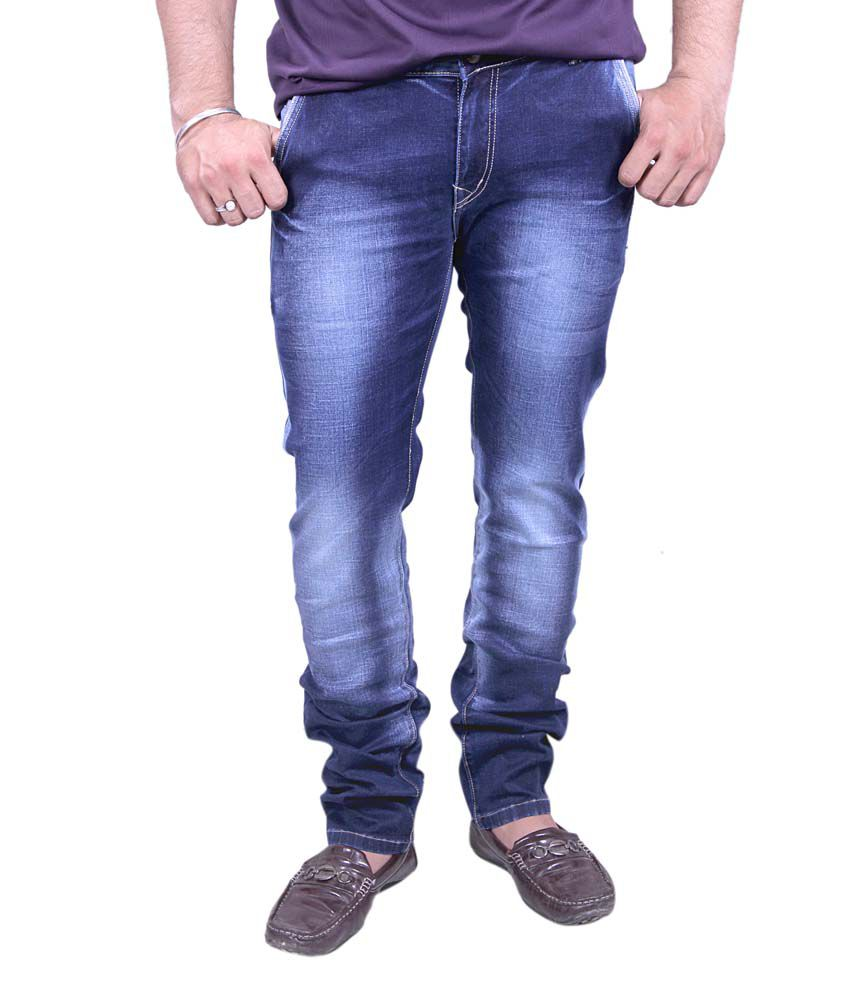 Jonia Blue Slim Fit Jeans