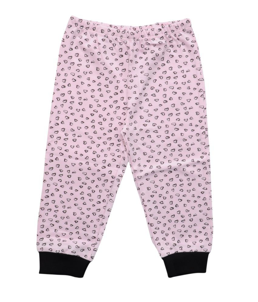 Most Wanted Pink Graphics Cotton Capri