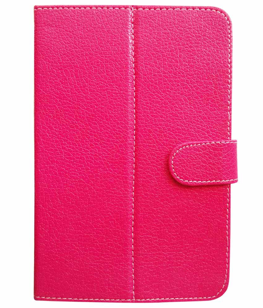 Fastway-Flip-Cover-For-Bsnl-Penta-T-pad-Ws707c--pink