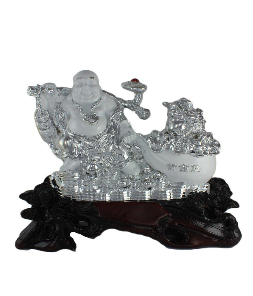Ray-Pro Matte Resin Buddha Showpiece