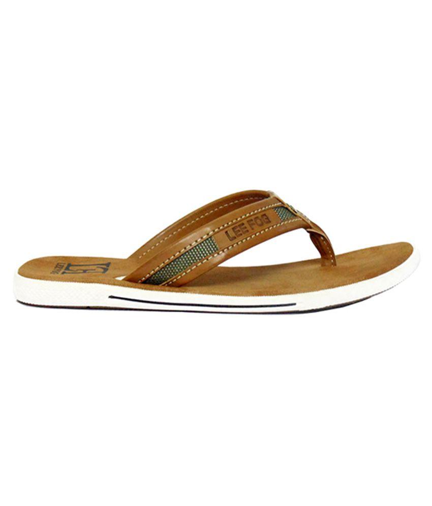 03e296741c37f Lee Fog Tan Toning Flip Flops Price in India- Buy Lee Fog Tan Toning ...