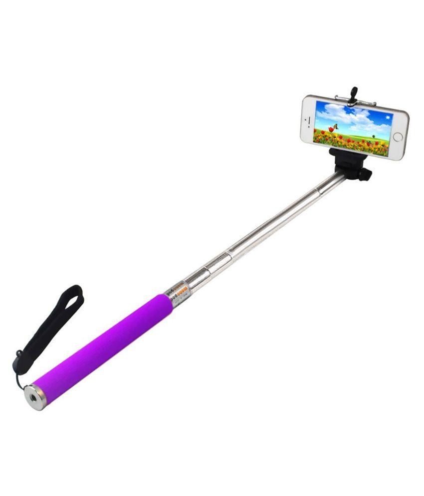 essot purple selfie stick with monopod selfie sticks accessories online at low prices. Black Bedroom Furniture Sets. Home Design Ideas
