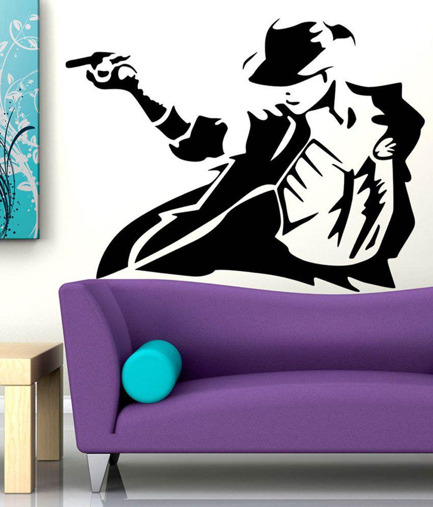 ... Trends On Wall Michael Jackson Sticker   Medium Part 94