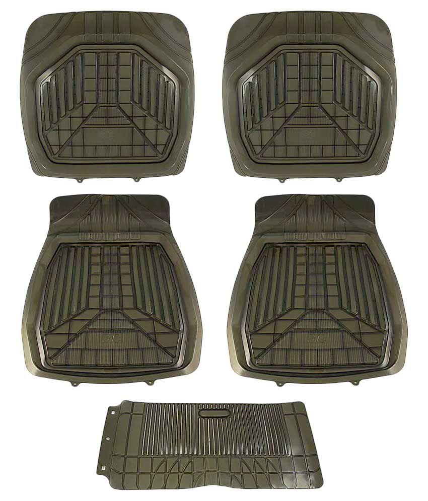 Rubber floor mats vw jetta - Takecare Rubber Floor Mat For Volkswagen Jetta Old Black