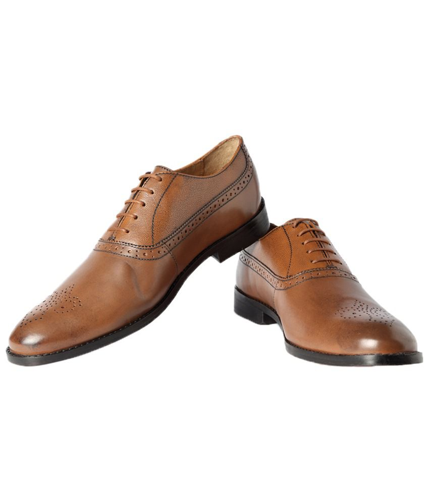 a33ce52f5f6f0d Van Heusen Brown Formal Shoes Price in India- Buy Van Heusen Brown Formal  Shoes Online at Snapdeal
