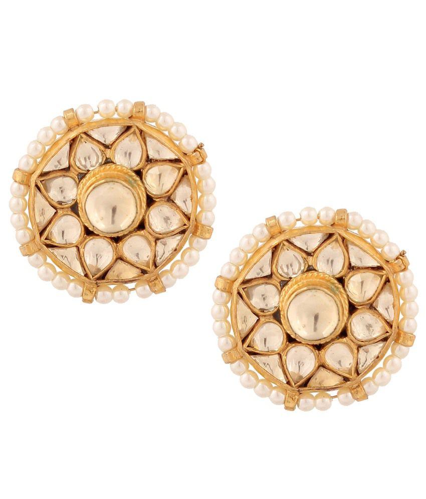 Sri Shringarr Golden Earrings