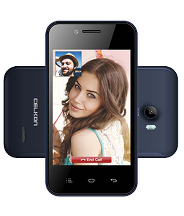 Celkon A355 512 Mb Blue Black
