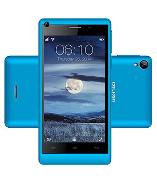 Celkon Q455 - 8 Gb 8gb Blue