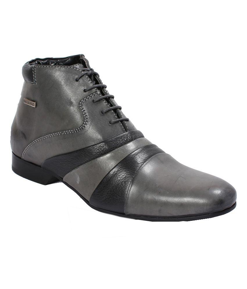 Maplewood Duke Grey Boots