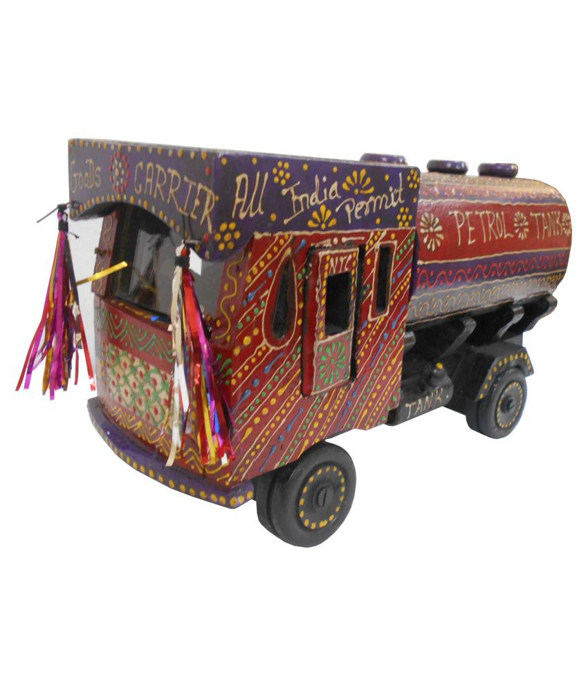 Mcb Exports Multicolor Decor Tanker